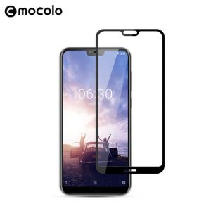 nokia 6.1 plus glass 3d tempered full glue 3d