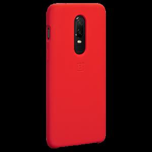 oneplus 6 original red silicon case