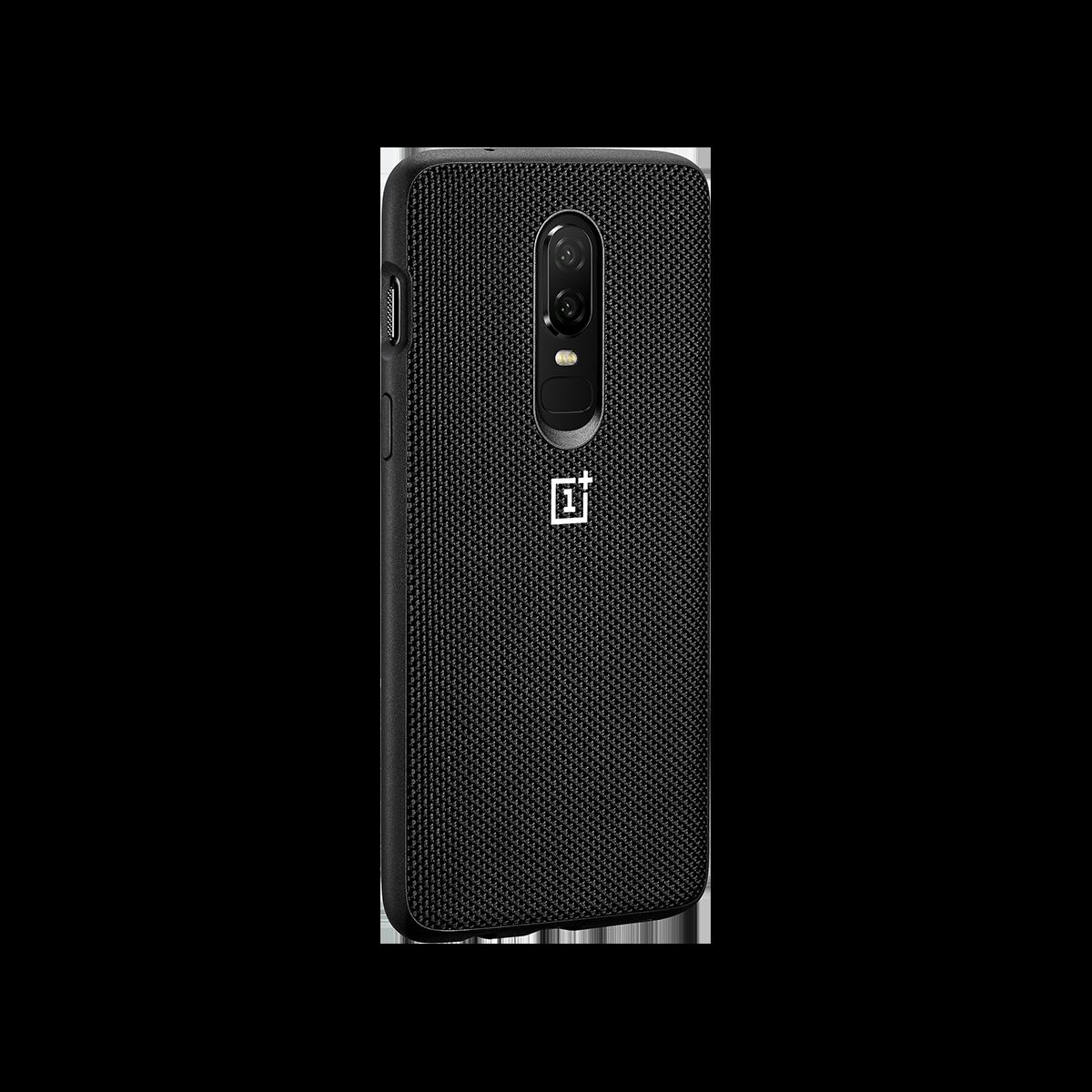 OnePlus 6 Bumper Case Nylon Black