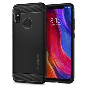 xiaomi mi 8 rugged armor by spigen