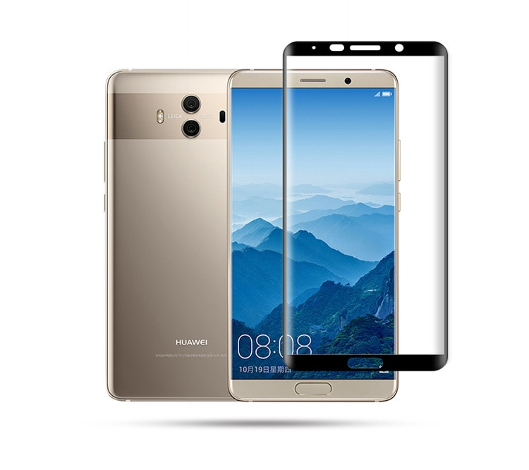 Mocolo Huawei Mate 10 Pro 3D Edge to Edge Tempered Glass - Black