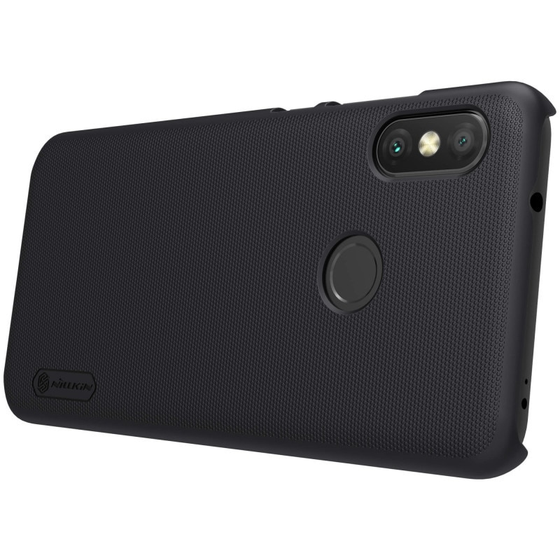 Xiaomi Mi A2 Lite / Redmi 6 Pro Nillkin Original Super Frosted Shield Hard Back Cover ( Black )