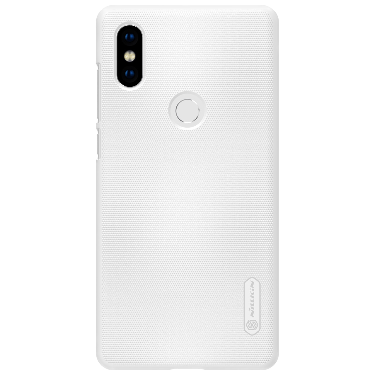 Mi Mix 2S Frosted Shield Hard Back Cover by Nillkin - White