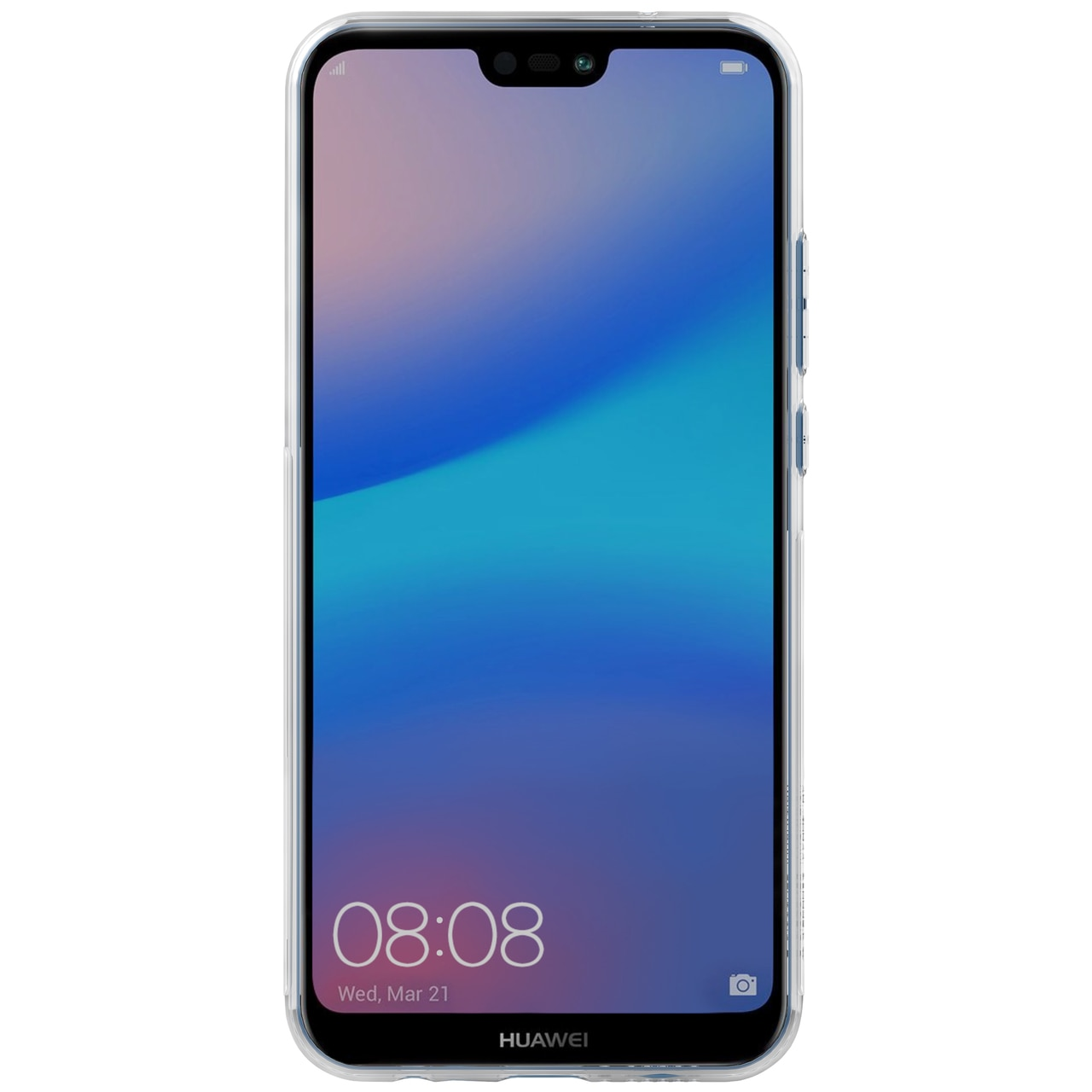 Huawei P20 Lite Premium Silicon Cover by Nillkin - Transparent