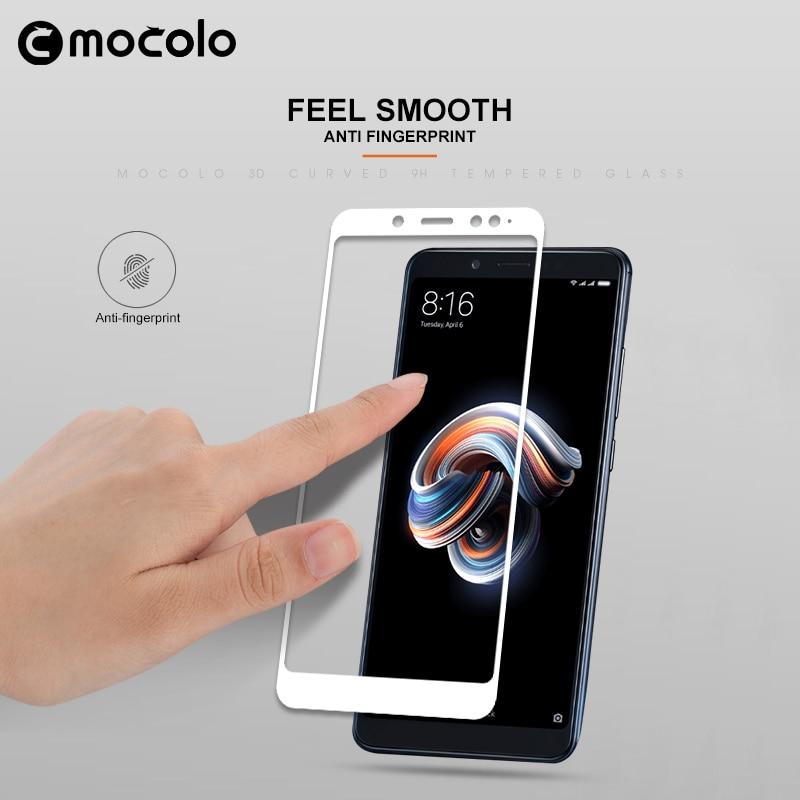 Mocolo Mi Redmi Note 5 / Note 5 PRO Edge to Edge Tempered Glass - Black