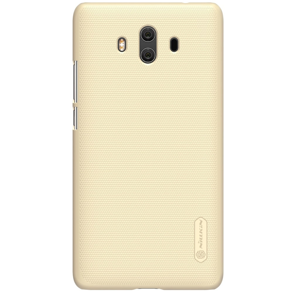 Huawei Mate 10 Frosted Shield Hard Back Cover by Nillkin - Gold