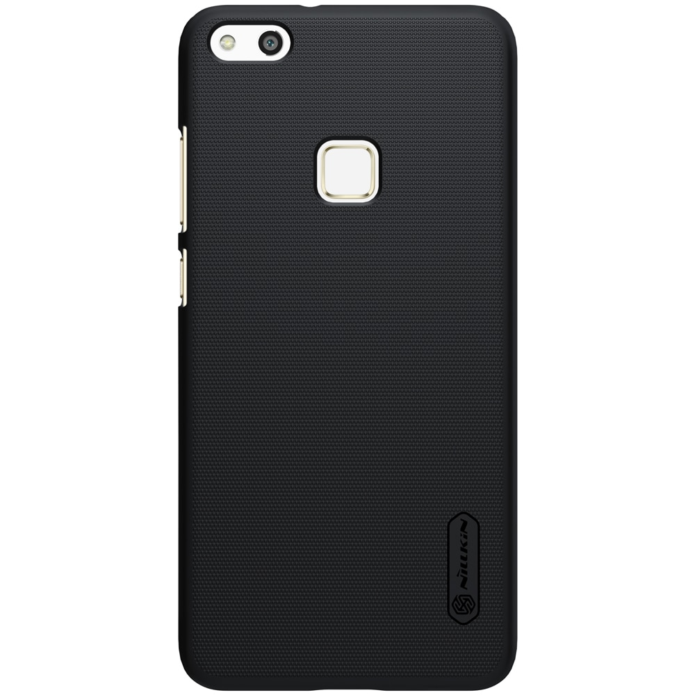 Huawei P10 Lite Frosted Shield Hard Back Cover by Nillkin - Midnight Black.