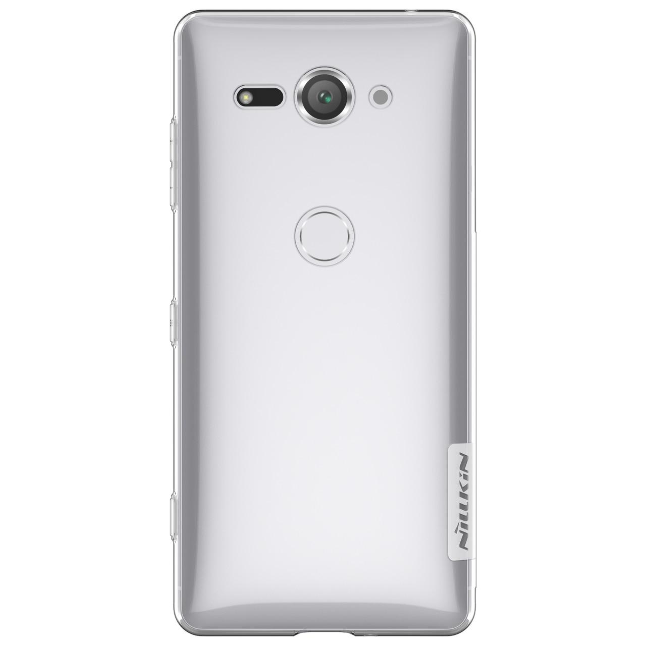 Sony Xperia XZ2 Compact Premium Silicon Cover by Nillkin - Transparent