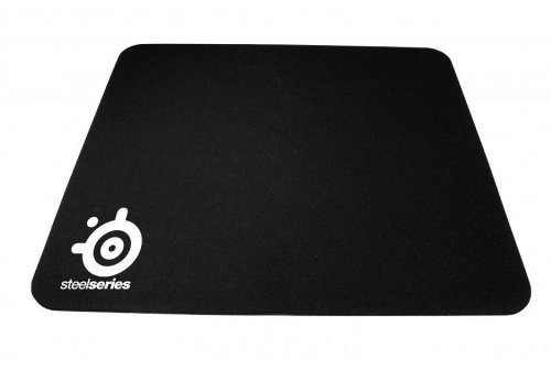 SteelSeries QcK+ Gaming Mouse Pad Laser & Optical Mouse Compatible - Black