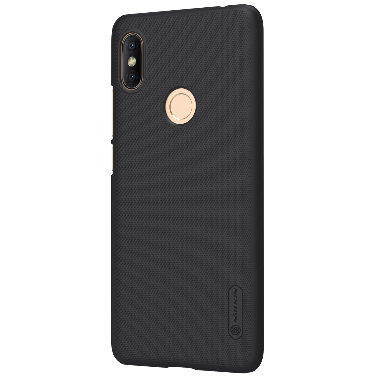 Redmi S2 Frosted Shield Hard Back Cover by Nillkin - Black