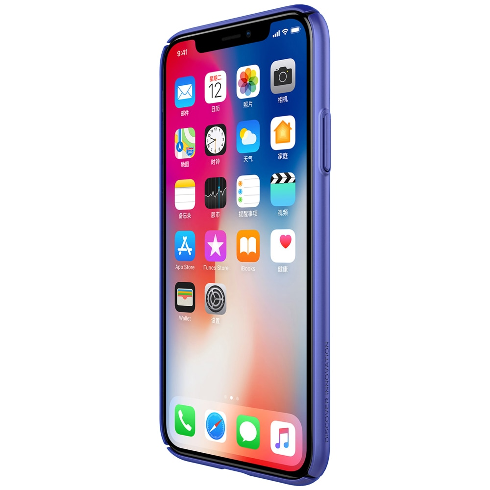 iPhone X Air Case Breathable Hard Back Cover by Nillkin - Blue