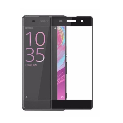 Mocolo Sony Xperia XA Edge to Edge Tempered Glass - Black