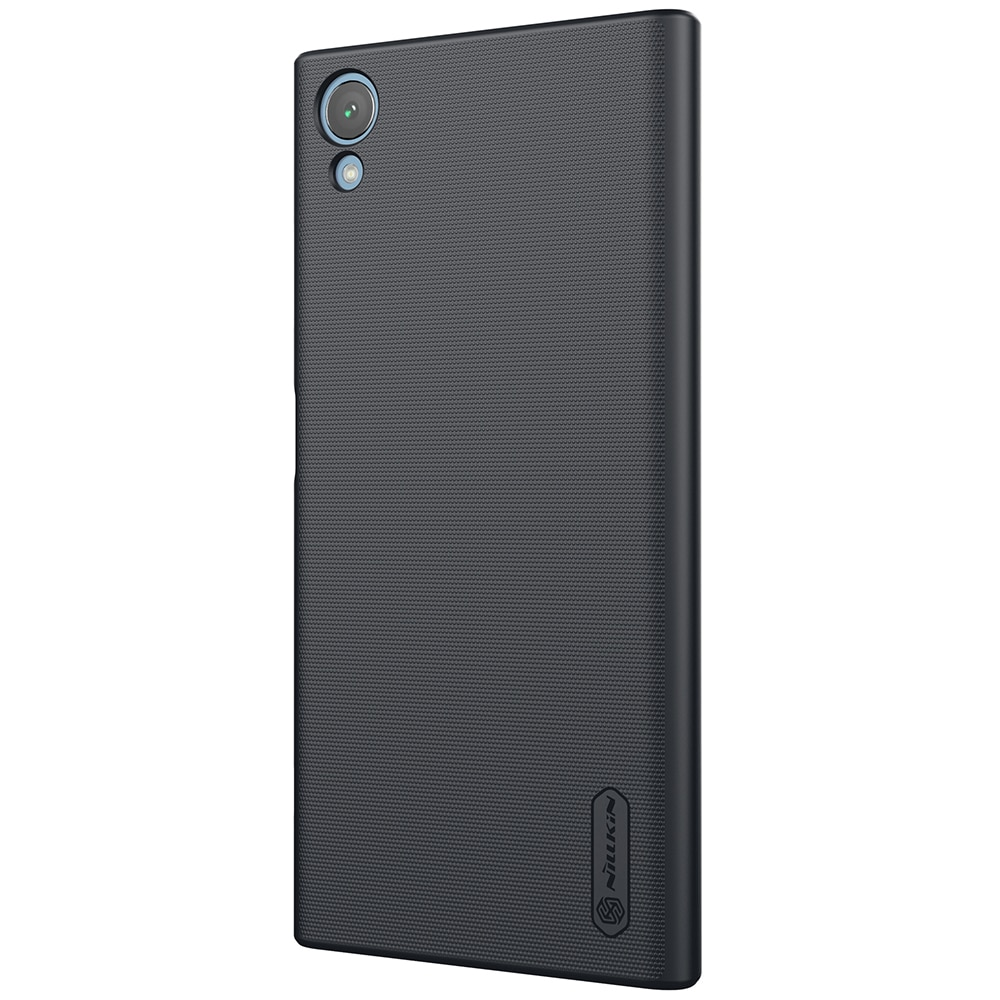 Sony Xperia XA1 Plus Frosted Shield Hard Back Cover by Nillkin - Black