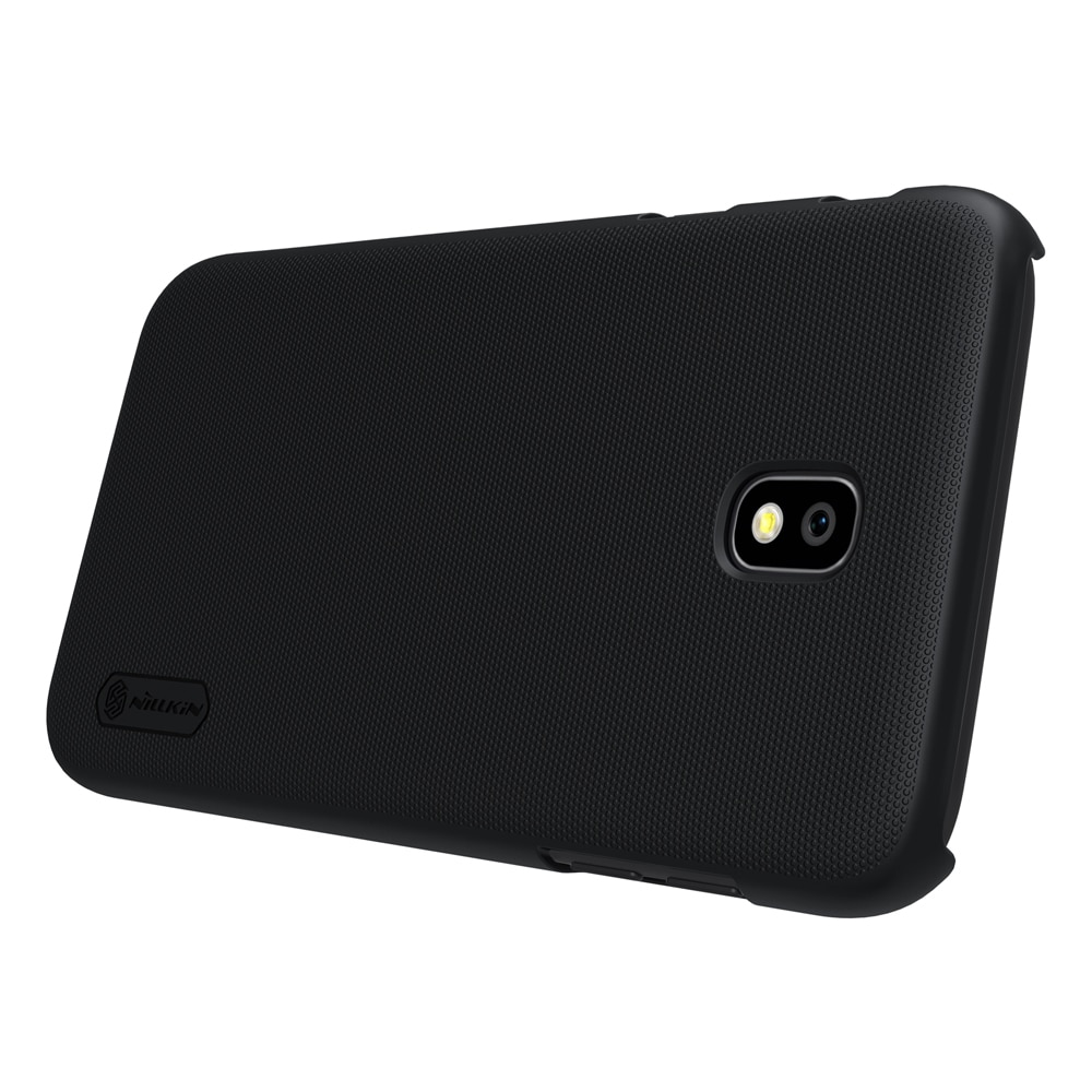 Samsung J7 2017 Frosted Shield Hard Back Cover by Nillkin - Black