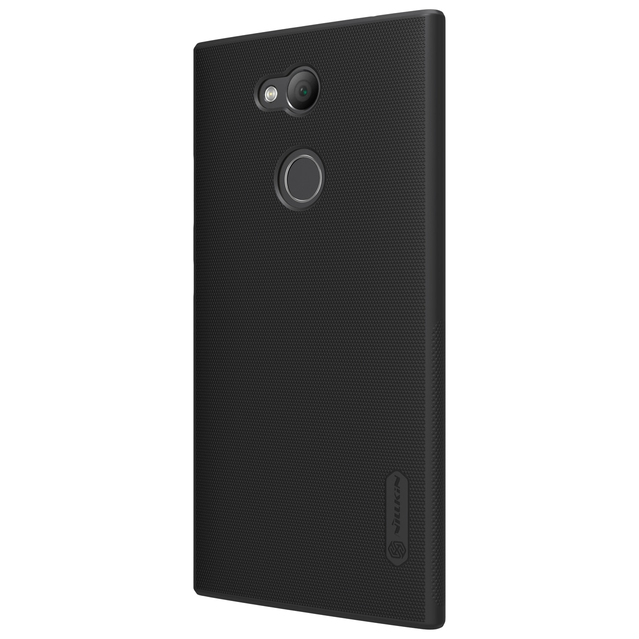 Sony Xperia L2 Frosted Shield Hard Back Cover by Nillkin - Black