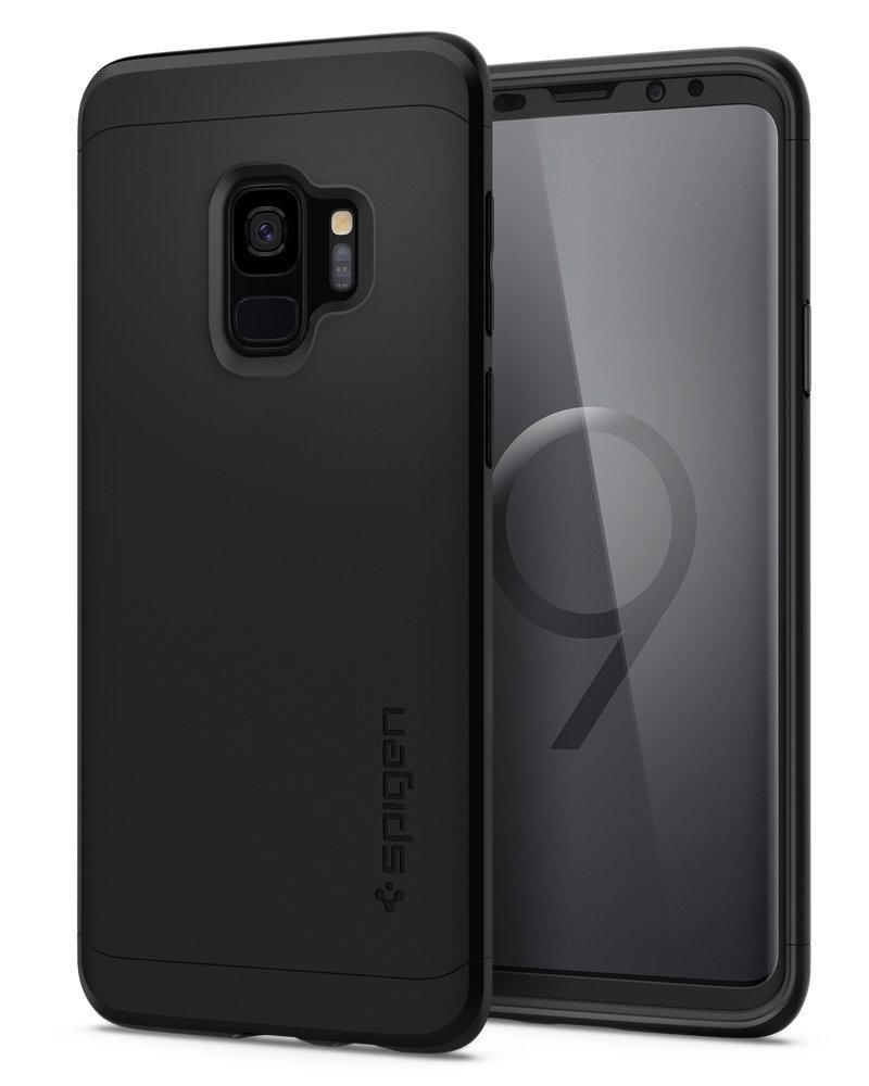 Samsung Galaxy S9 Spigen Original Thin Fit 360 Case with Glass Protector