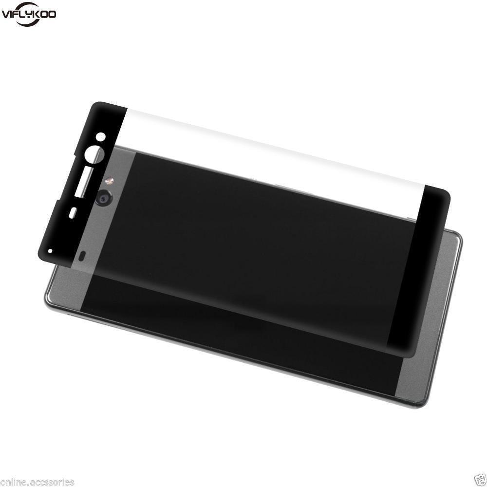 Mocolo Sony Xperia XA Edge to Edge Tempered Glass - Black