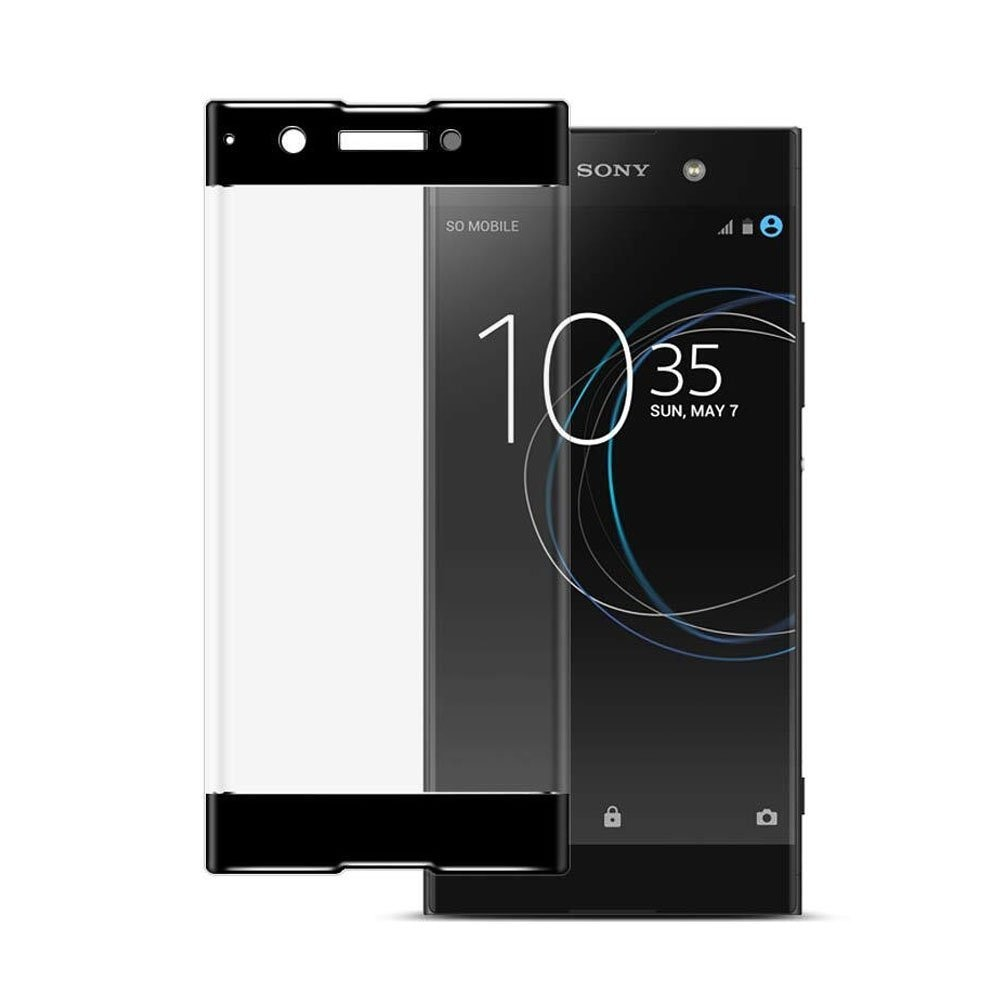 Mocolo Sony Xperia XA1 Plus Edge to Edge Tempered Glass - Black