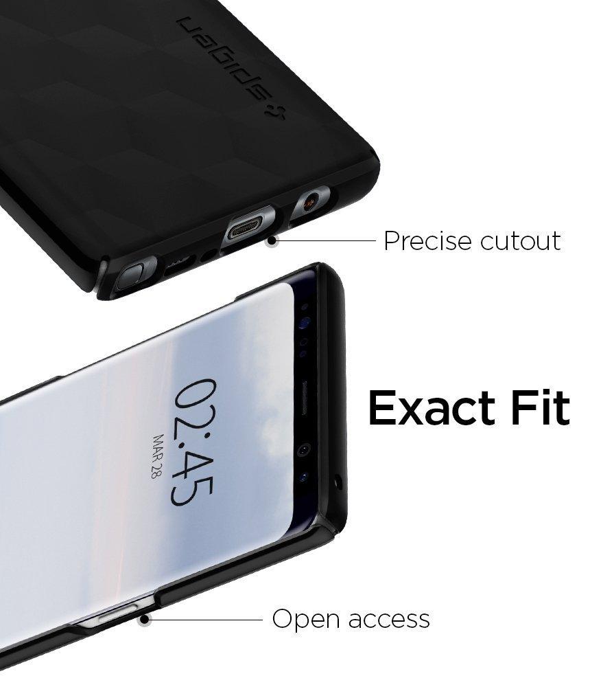 Galaxy Note 8 Original Spigen Original Thin Fit - Matte Black