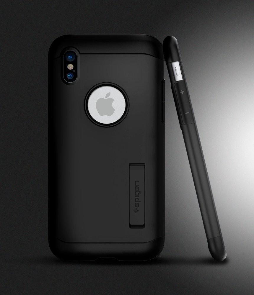 Apple iPhone X Spigen Slim Armor Case Black