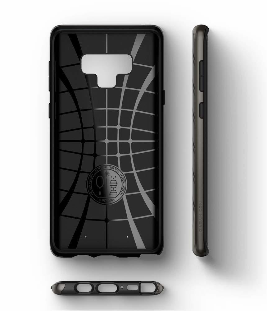 Samsung Galaxy Note 9  Spigen Original Neo Hybrid Dual Layer Case - Gunmetal
