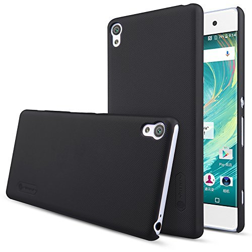 Sony Xperia XA Frosted Shield Hard Back Cover by Nillkin - Black