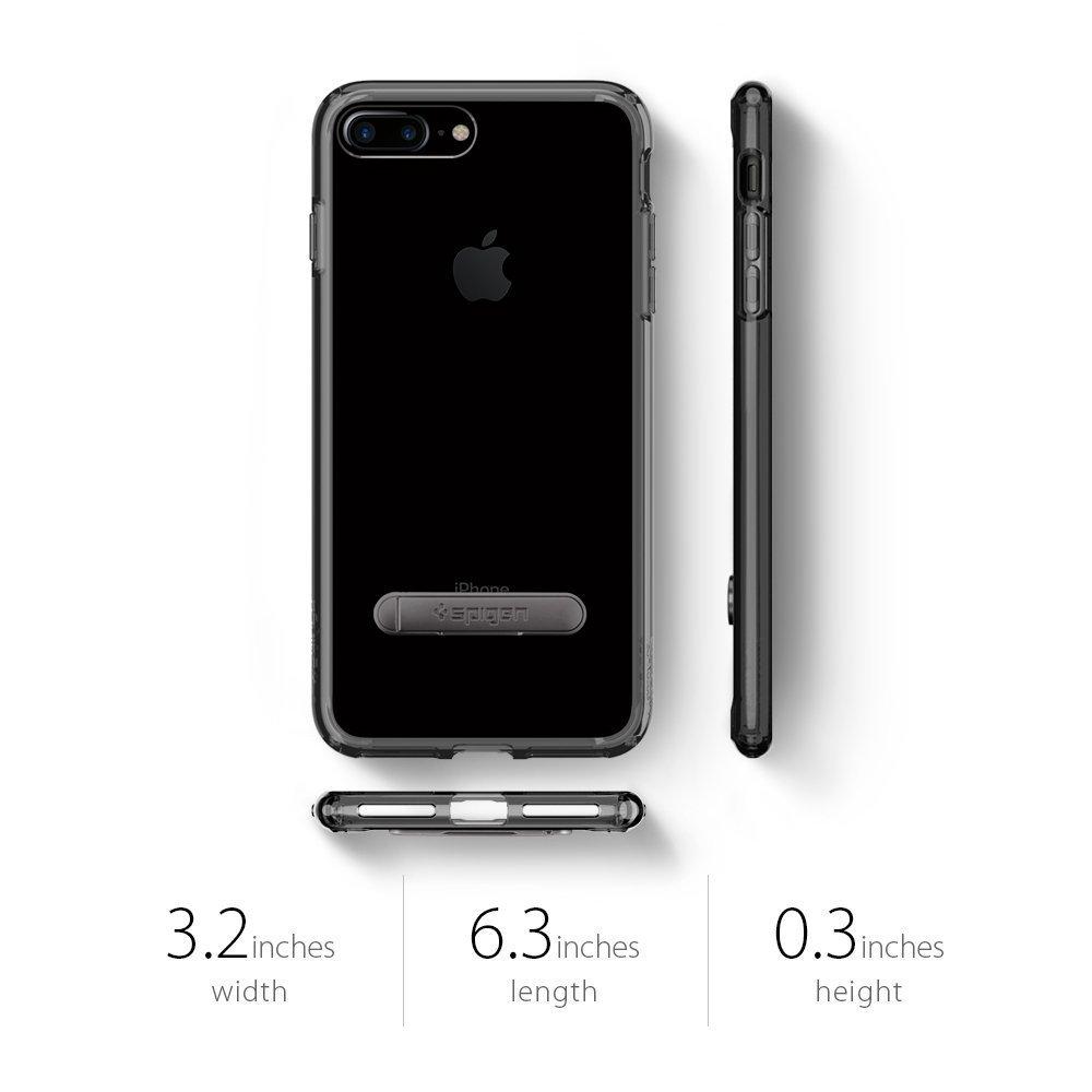 Apple iPhone 8 Plus / 7 Plus Spigen Original Ultra Hybrid S Case - Jet Black