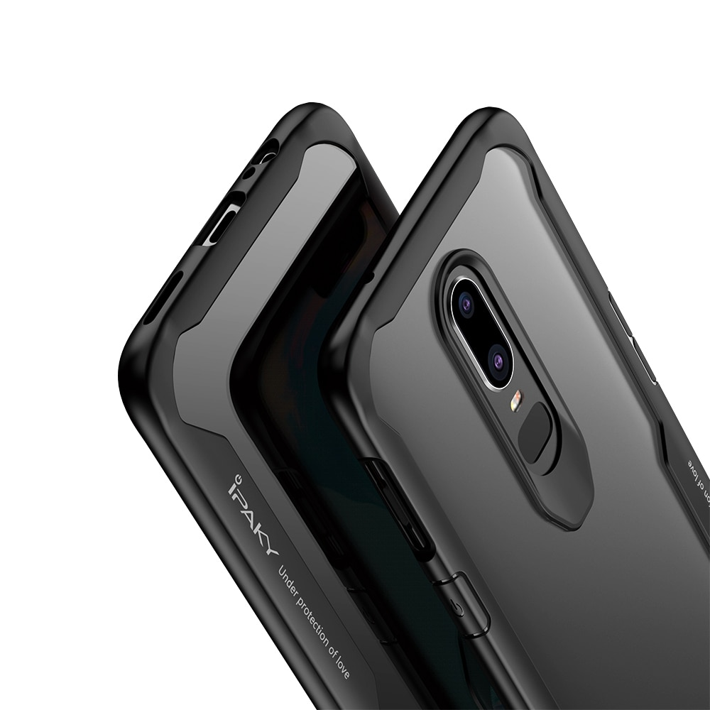 OnePlus 6 Survival Series Tough Anti Scratch Case by iPaky - Red