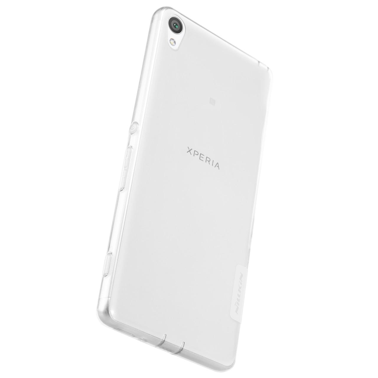 Sony Xperia XA Premium Silicon Cover by Nillkin - Transparent