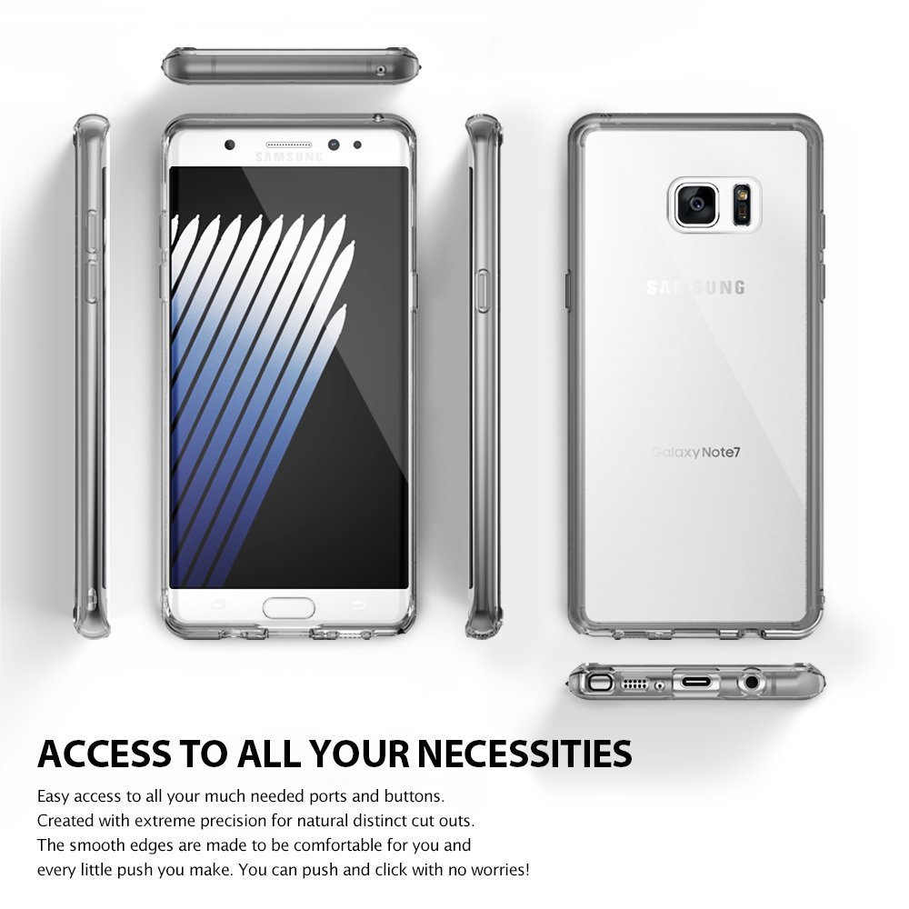 Ringke Fusion Case for Samsung Galaxy Note 7 - Crystal Clear