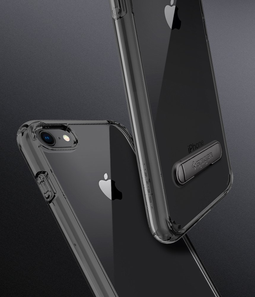 Apple iPhone 8 / 7 Spigen Original Ultra Hybrid S Case - Jet Black