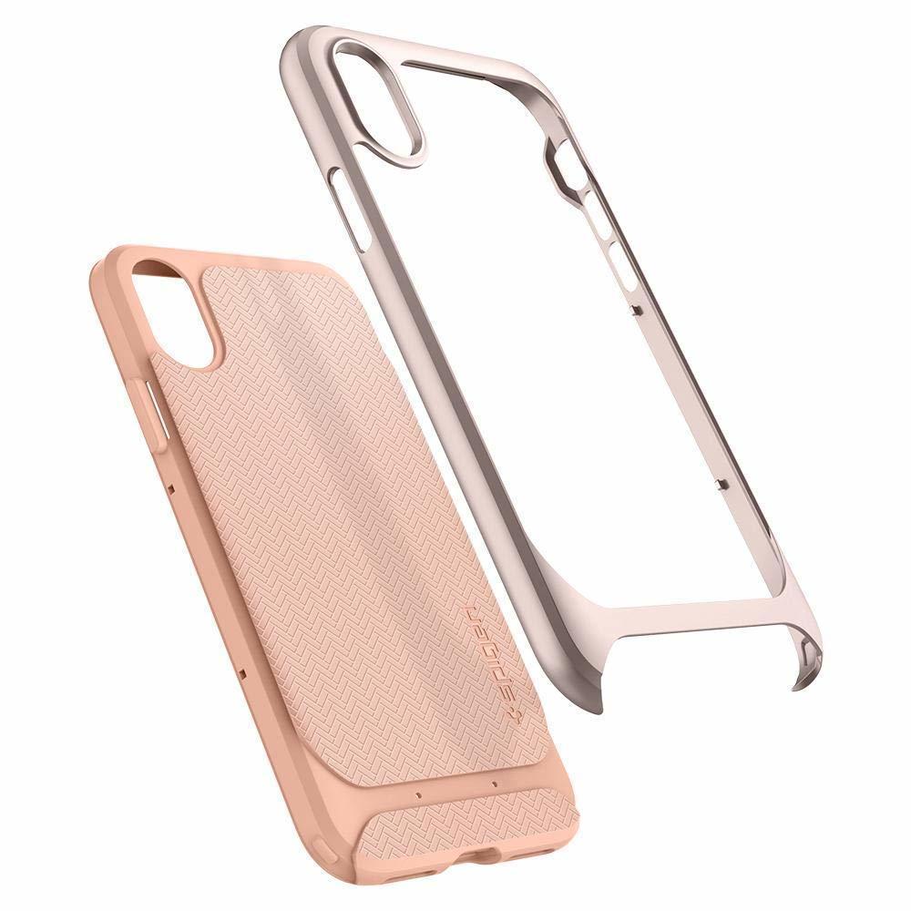 Apple iPhone X Original Spigen Case Neo Hybrid - Pale Dogwood