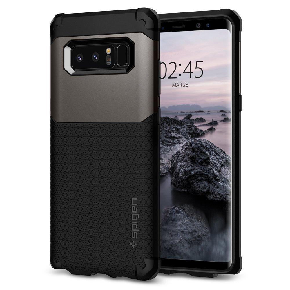 Galaxy Note 8 Spigen Hybrid Armor Case - Gunmetal