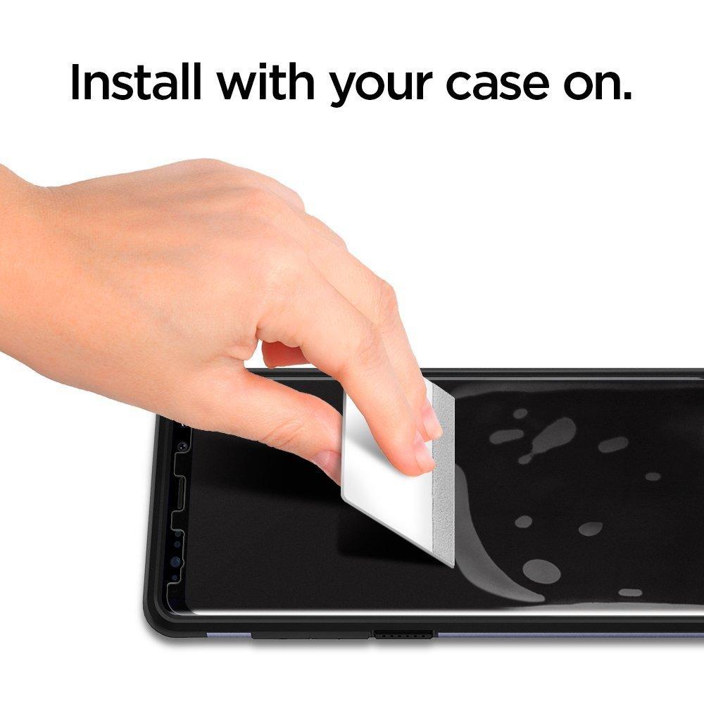 Galaxy Note 8 Spigen Neo Flex Case Friendly Screen Protector - 2 PACK