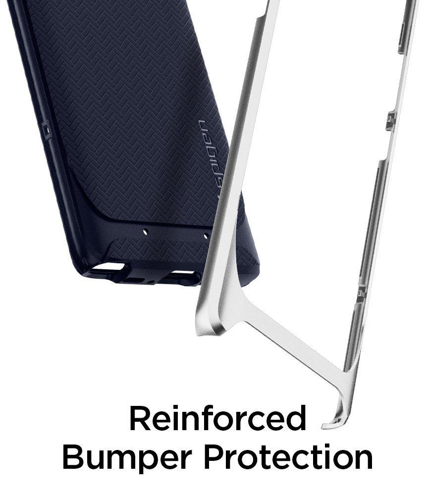 Samsung Galaxy Note 8 Original Spigen Case Neo Hybrid - Arctic Silver