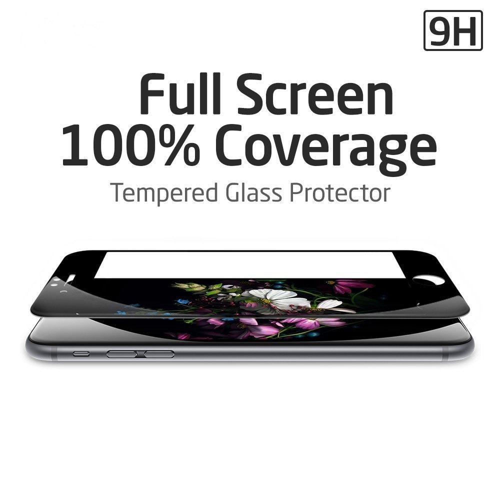 Mocolo iPhone 6 Plus / 6s Plus Edge to Edge Tempered Glass - Black