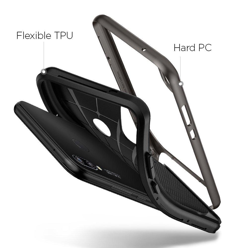 Huawei P20 Lite Spigen Neo Hybrid Dual Layer Case - Gunmetal