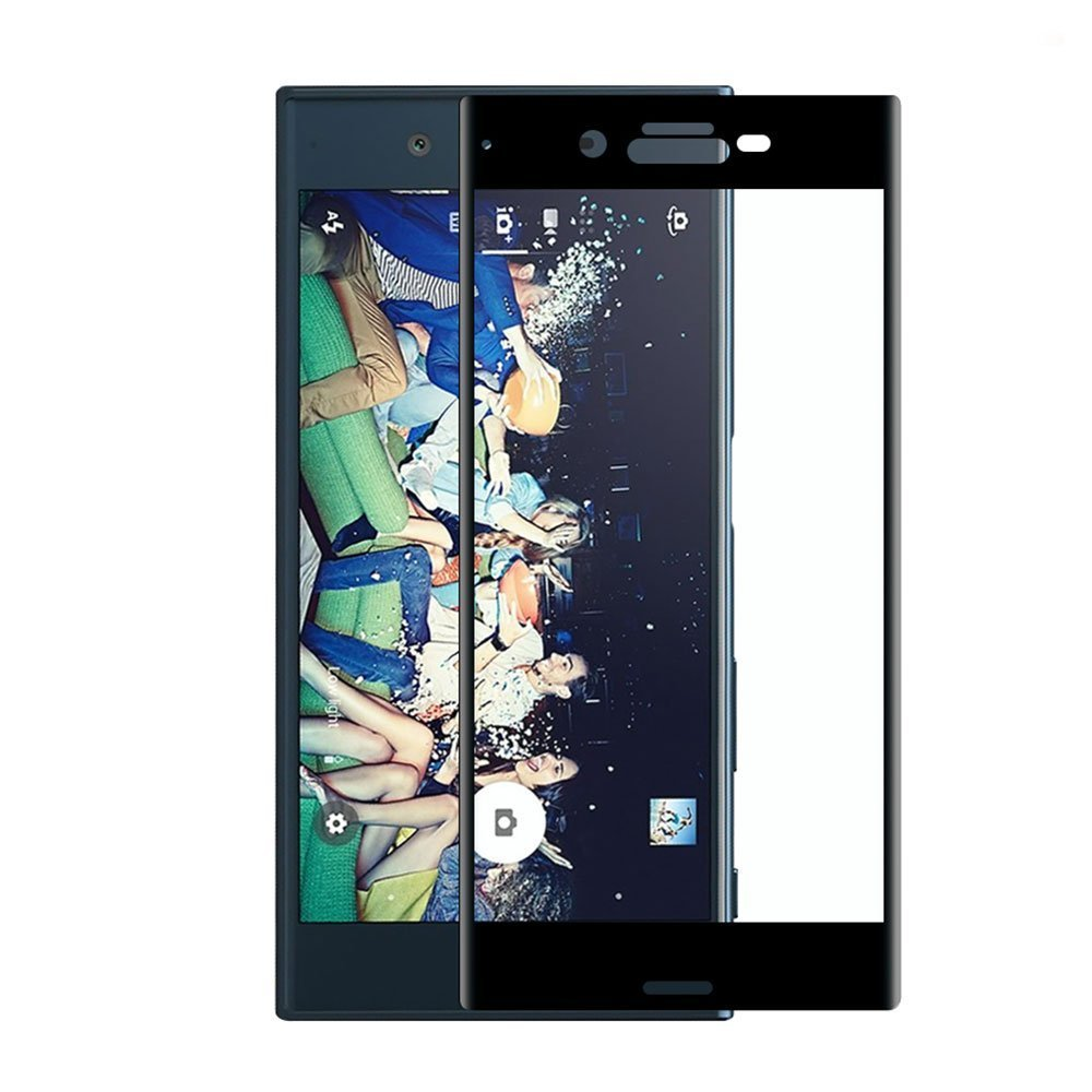 Mocolo Sony Xperia X Edge to Edge Tempered Glass - Black
