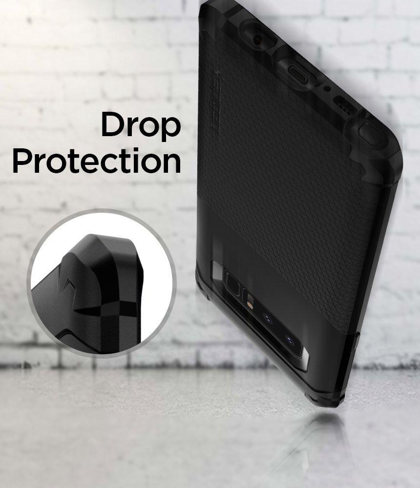 Galaxy Note 8 Spigen Hybrid Armor Case - Black