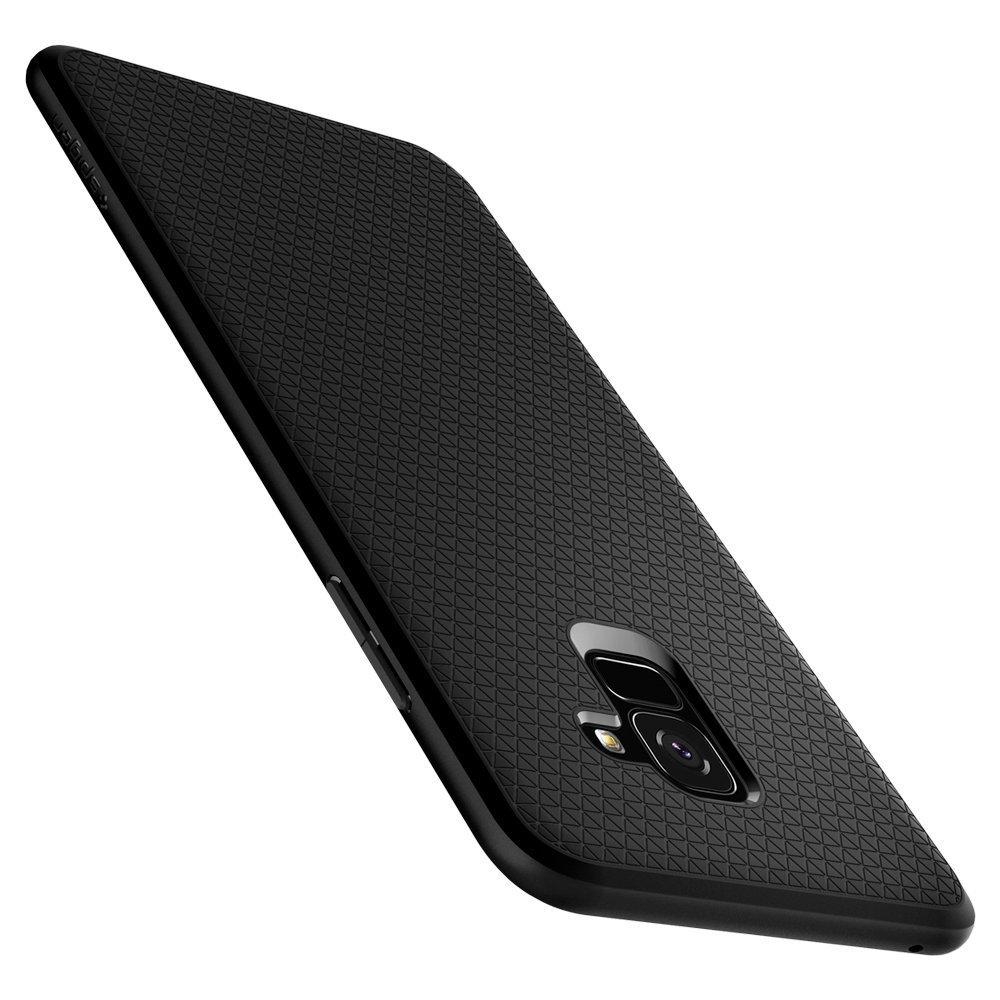 Samsung Galaxy A8 2018 Spigen Original Liquid Air Soft Case - Matte Black
