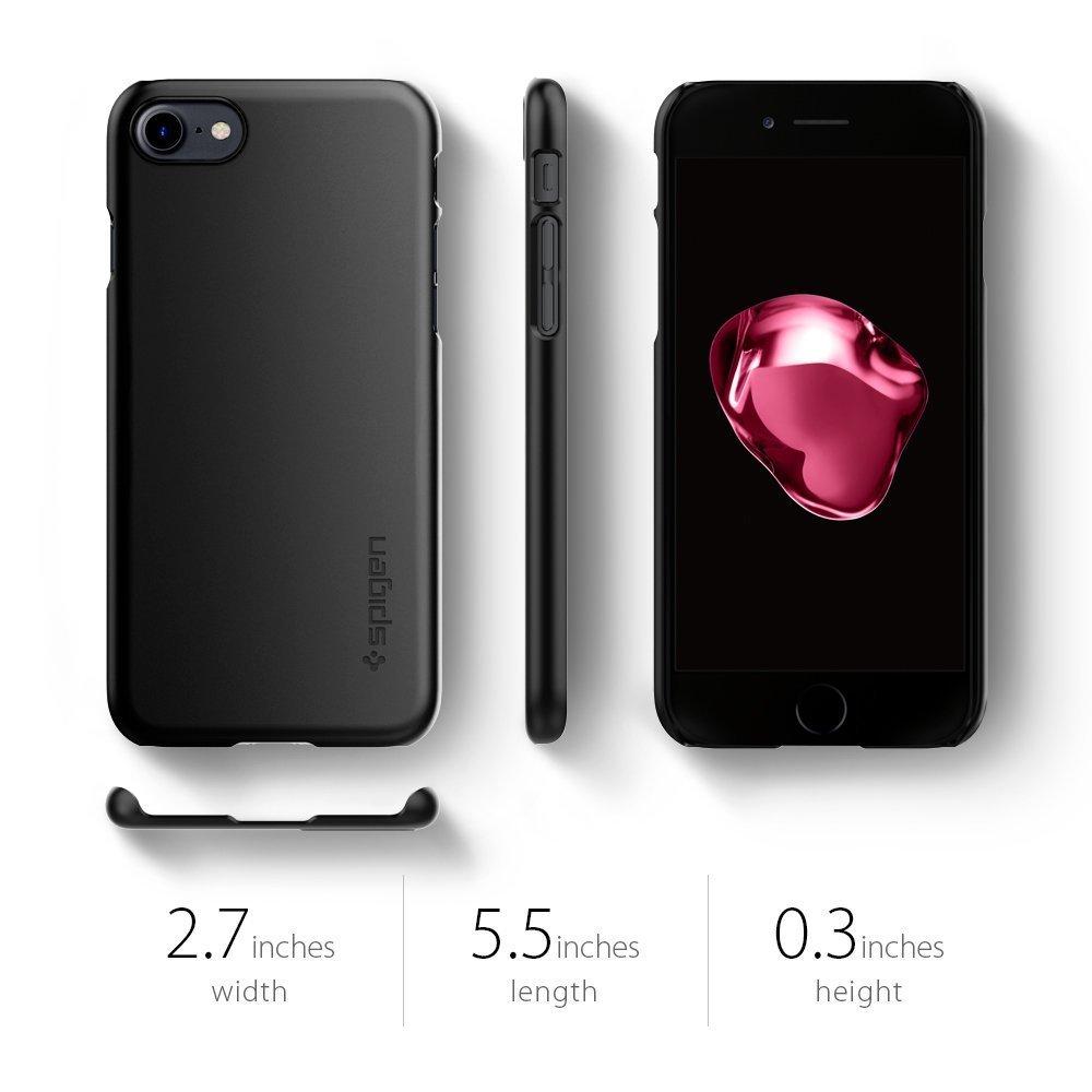 Apple iPhone 8 / iPhone 7 Spigen Thin Fit Case - SF Black