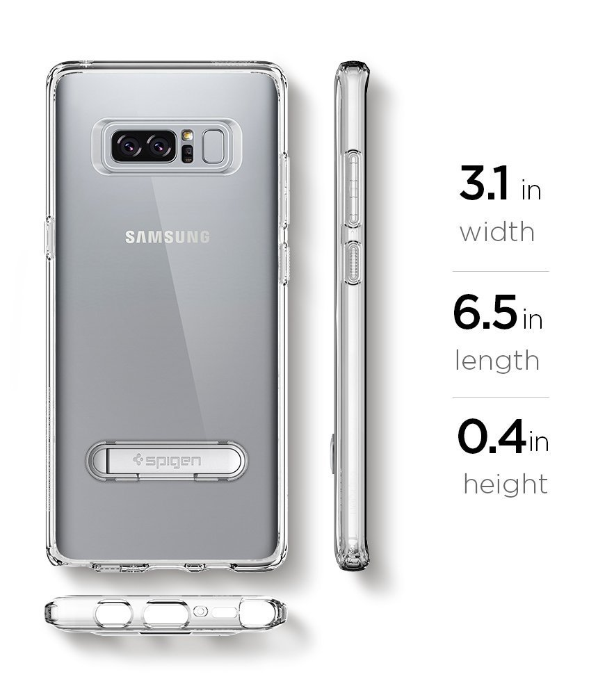 Samsung Galaxy Note 8 Spigen Ultra Hybrid S Case - Crystal Clear