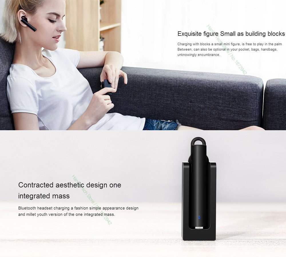 Xiaomi Mi Bluetooth Headset Youth Edition Black