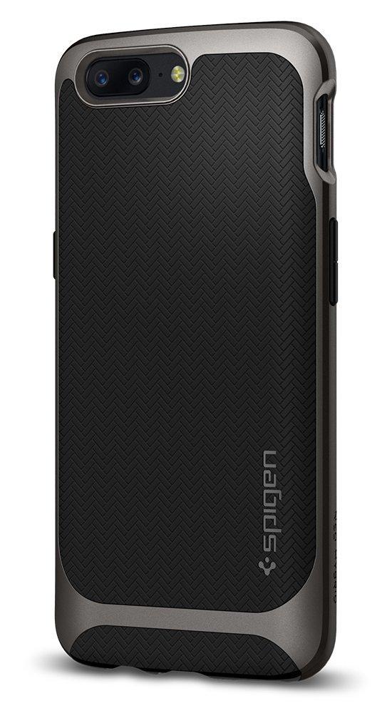 OnePlus 5 Spigen Original Neo Hybrid Case - Gunmetal