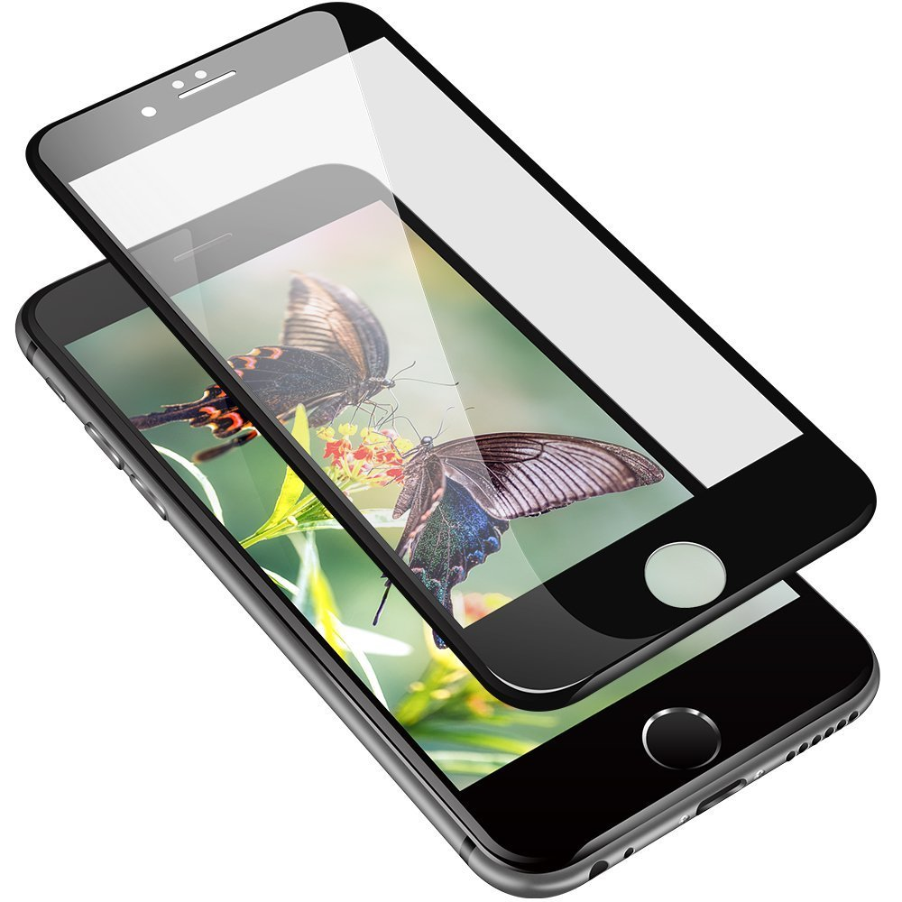 Mocolo iPhone 6/6s Edge to Edge Tempered Glass - Black