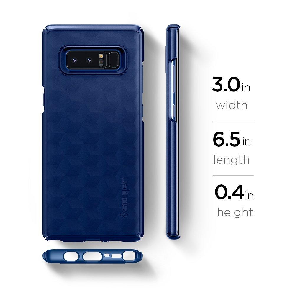 Galaxy Note 8 Original Spigen Original Thin Fit - Deep Sea Blue
