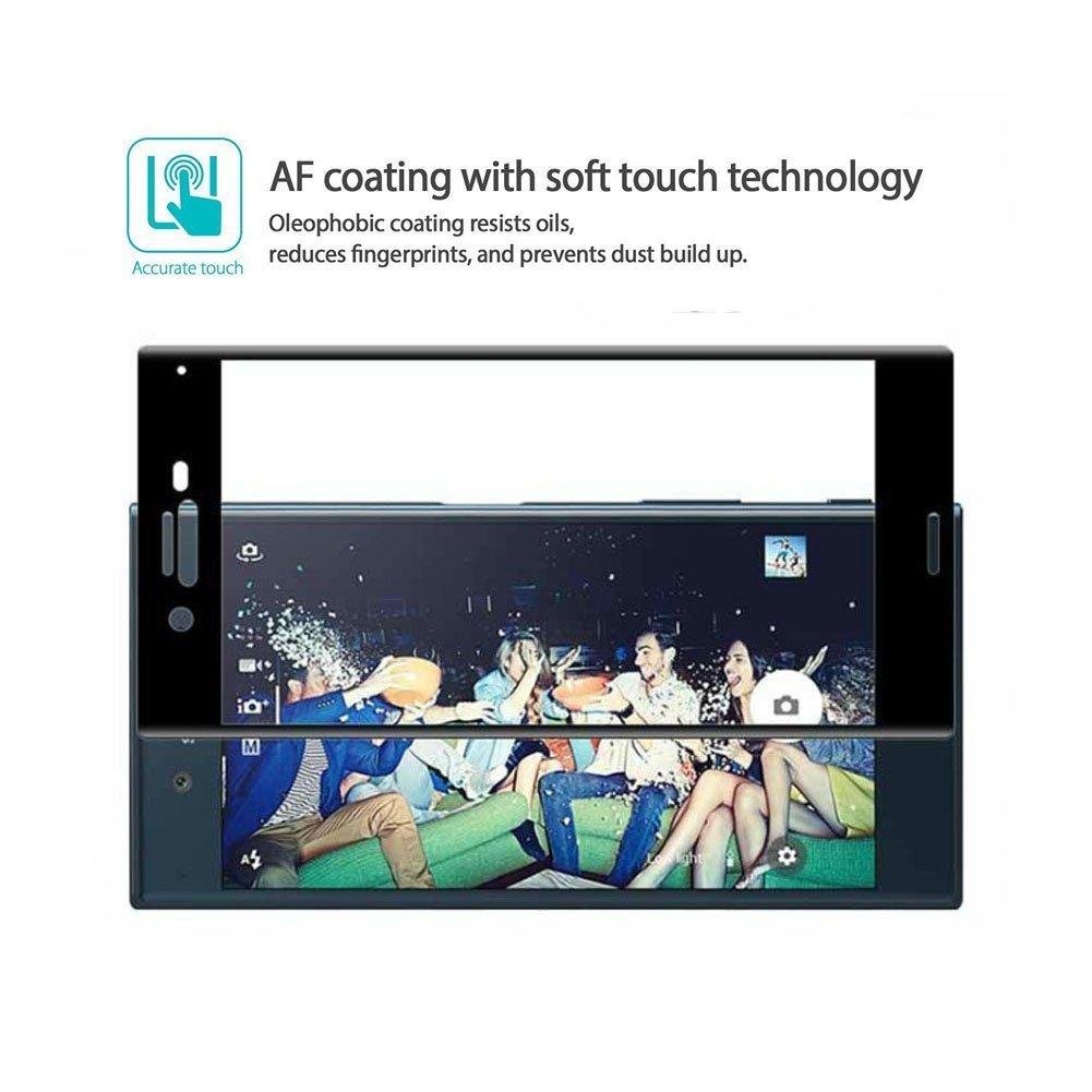 Mocolo Sony Xperia XZ Premium Edge to Edge Tempered Glass - Black
