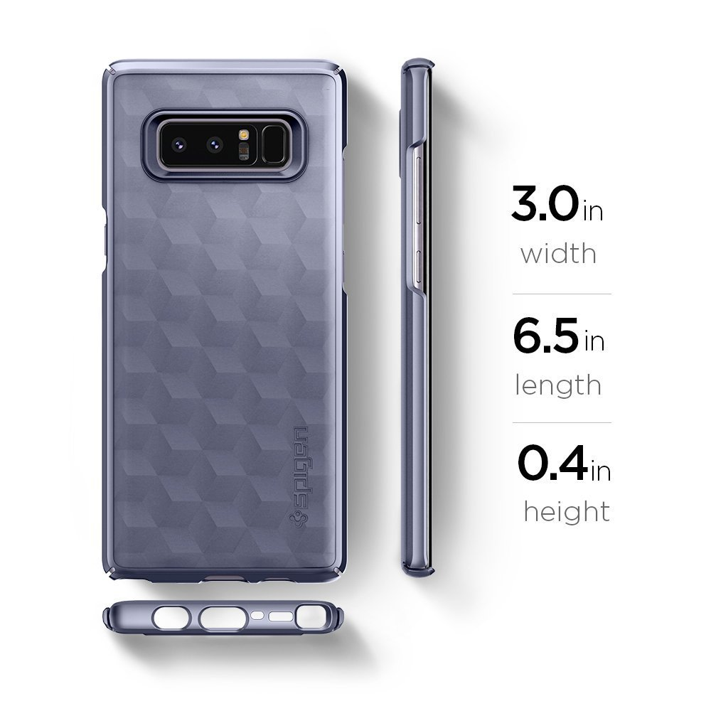 Galaxy Note 8 Original Spigen Original Thin Fit - Orchid Gray