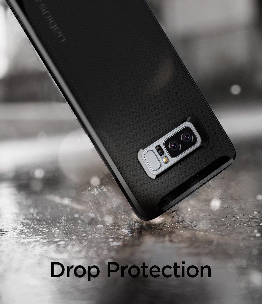Samsung Galaxy Note 8 Original Spigen Case Neo Hybrid - Shiny Black