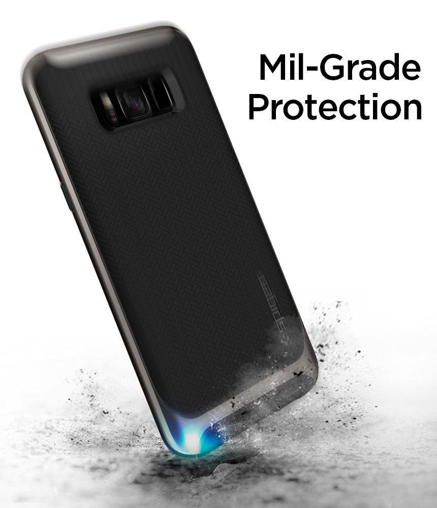 Galaxy S8 Spigen Neo Hybrid Dual Layer Case - Gunmetal